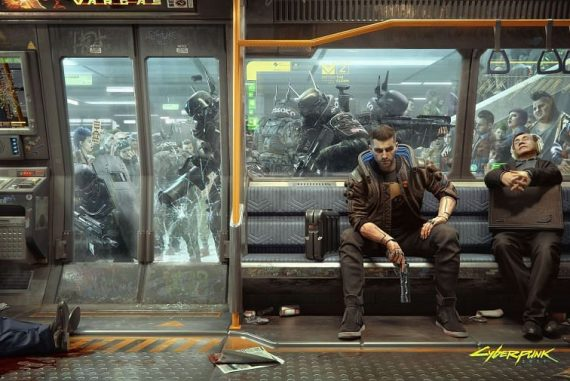 Cyberpunk 2077 is perhaps the biggest video game release of the past decade (Image via CD Projekt Red)