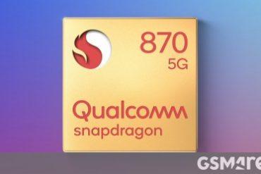 Qualcomm, Snapdragon 870 5G 칩셋 및 3.2GHz CPU로 클럭 속도의 타이틀을 되찾았습니다.