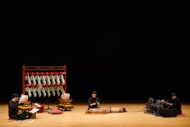"""Music director Lim Yong-ju's """"Resonating"""" (translated), which introduces a unique traditional Korean instrument called pyeongyeong, will premier on Feb. 26 at the Daehakro Arts Theater in central Seoul. [ARKO]"""