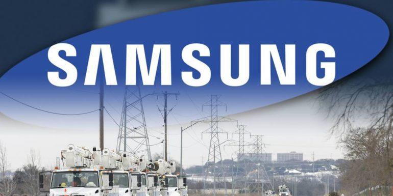 겨울 폭풍으로 인해 삼성, 텍사스 칩 공장 가동 중단
