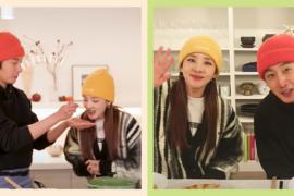 정일우와 산다라 박이 함께 피노이 요리를 시도하다