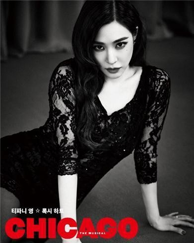 Tiffany Young, a Girls' Generation member, has been cast to play Roxie Hart in the upcoming production of ″Chicago.″ [SEENSEE COMPANY]