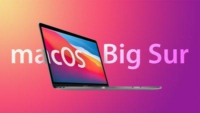 macOS Big Sur의 세 가지 기능