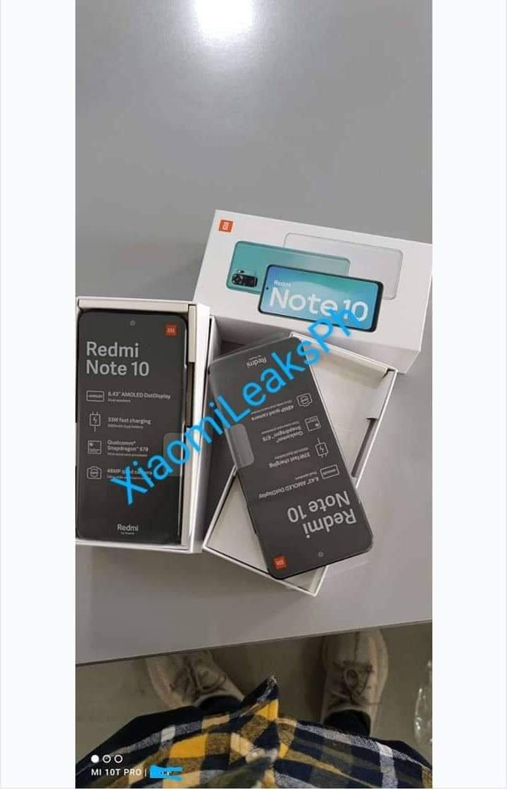 Redmi Note 10 개봉기