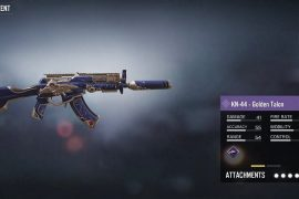 The KN-44 Golden Talon can be acquired for free in COD Mobile Season 2 (image via Activision)