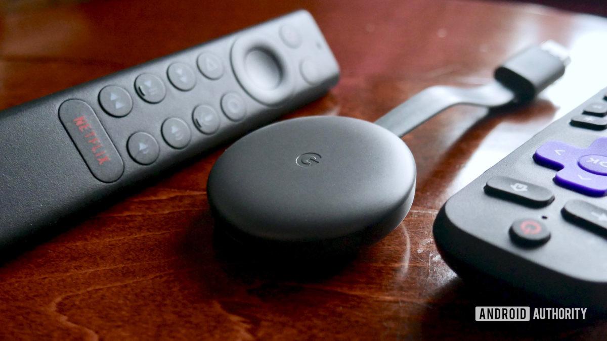 Google Chromecast 리모컨