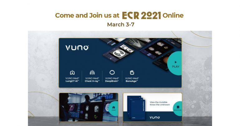 VUNO는 ECR 2021에서 인공 지능을 이용한 의료 영상을위한 최신 기술을 선보입니다.