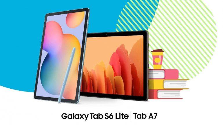삼성, 학생들을 위해 Galaxy Tab S6 Lite, Tab A7, Tab S7 및 Tab S7 + 할인 발표