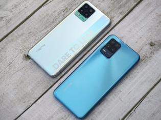 Realme 8 Pro 및 Realme 8 5G 나란히