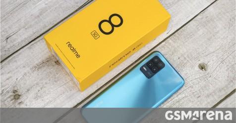 검토 용 Realme 8 5G
