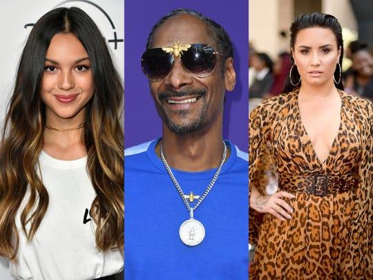 Olivia Rodrigo, Snoop Dogg, Demi Lovato는 모두 새 음악을 발표했습니다.