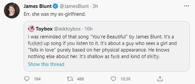 하아!  James Blunt는 자신이 노래를 쓴다고 비난 한 드워프를 바로 잡았 기 때문에 그의 최신 쇼에 실망하지 않았습니다.