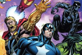 Marvel Comics에서 Avengers의 블록버스터 스토리 읽기