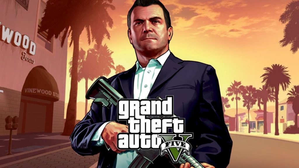 GTA 5 업데이트 다운로드 화면