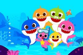한국의 애니메이션 시리즈 Baby Shark가 국제적으로 방송됩니다.