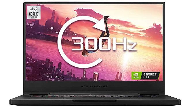 게임용 노트북 사진, 특히 Asus rog zephyrus s15