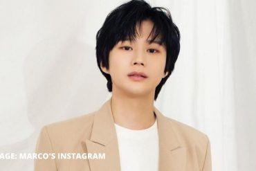 한국 가수 마르코, 모모 랜드 혜빈과의 연애 거짓말에 대해 팬들에게 사과
