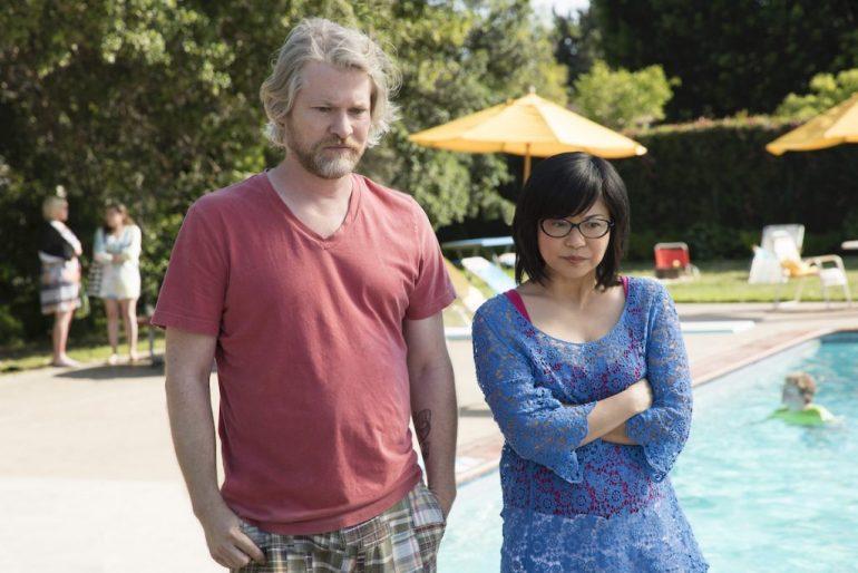 Todd Lowe as Zack and Keiko Agena as Lane Kim in