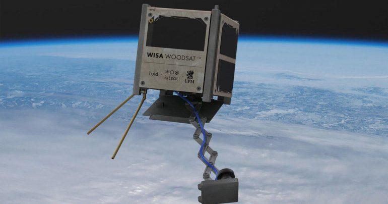 세계 최초의 목조 위성, 합판이 우주에서 생존 할 수있는 능력을 증명하는 것을 목표로합니다.