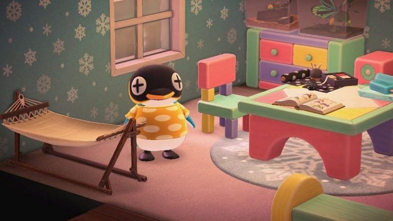 Meet Cube, the lazy Emperor Penguin from Animal Crossing: New Horizons (Image via YouTube)