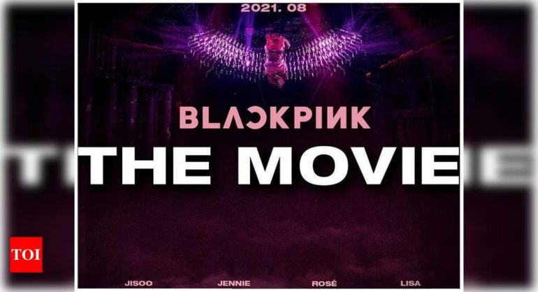 BLACKPINK, 8 월 공개 전에 첫 번째 '영화'포스터 공개 블링크는 진정 할 수 없다    K-pop 영화 뉴스