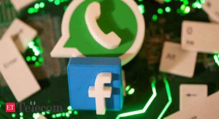 Facebook, 전 세계 여러 국가의 WhatsApp, Telecom News, ET Telecom으로 매장 이전