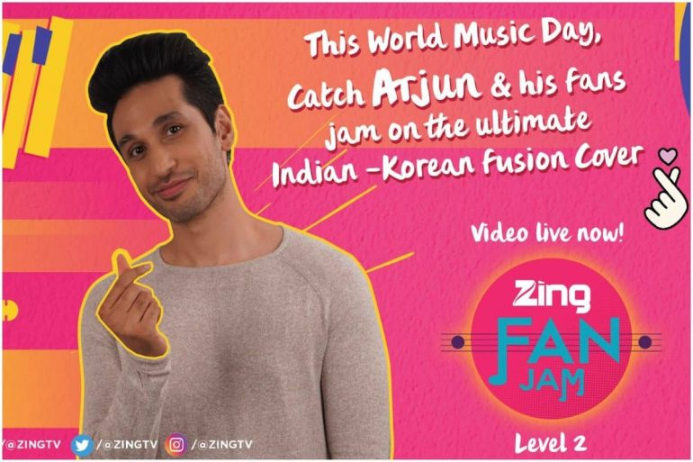 World Music Day Special: Zing Ropes In Arjun Kanungo For a Special Indian-Korean Music Cover Video