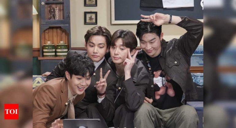 방탄소년단 뷔, 박서준, 최우식, 박형식 등이 픽보이 컴백 뮤직비디오에 참여한다.