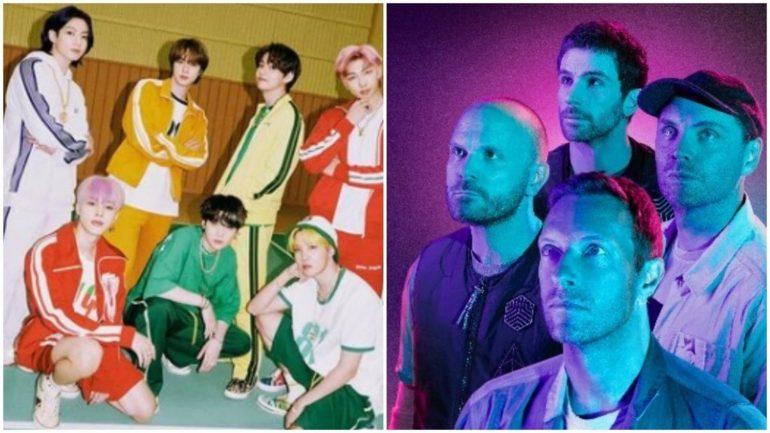 빅히트뮤직은 방탄소년단이 콜드플레이와 신곡을 콜라보했다는 보도에 대해 반박했다.