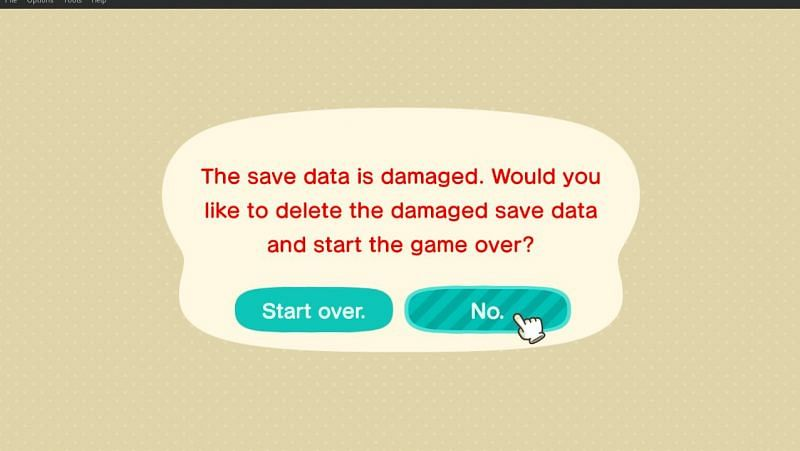 Animal Crossing: New Horizons 시작하기(Reddit을 통한 이미지)