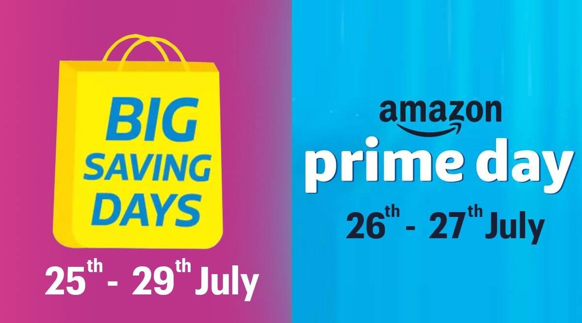 Amazon Prime Day, Amazon Prime Day 거래, Amazon Prime Day India, Amazon Prime Day 2021, Amazon Prime Day Apple, Amazon Prime Day Apple Watch 할인, Apple에서 Amazon Prime Day 할인, Amazon Prime Day iPhone 할인, Flipkart Big Savings Day, Flipkart 큰 저축의 날 거래, Flipkart 거래