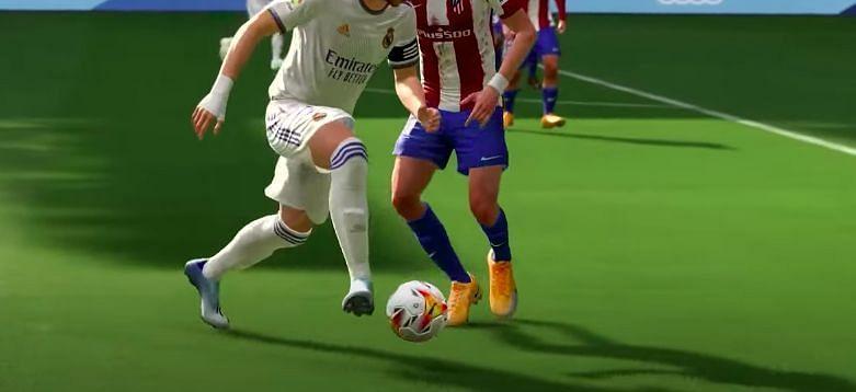 FIFA 22에서 플레이하는 방법. YouTube를 통한 이미지