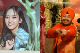 K팝 가수 서리가 어렸을 때 Daler Mehndi의 Tunak Tunak Tun을 들었다고 밝혔다.