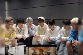 WATCH: '춤출 수 있는 허가' 뮤직비디오에 대한 방탄소년단의 반응을 놓칠 수 없습니다!     케이팝 영화 뉴스
