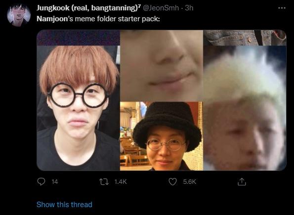방탄소년단 팬들이 RM의 최근 트윗에 반응하고 있다.