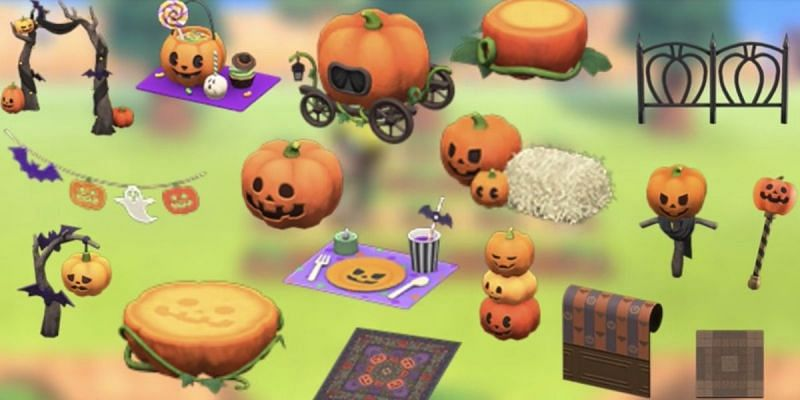 Animal Crossing의 호박 항목(AKRPG.COM을 통한 이미지)