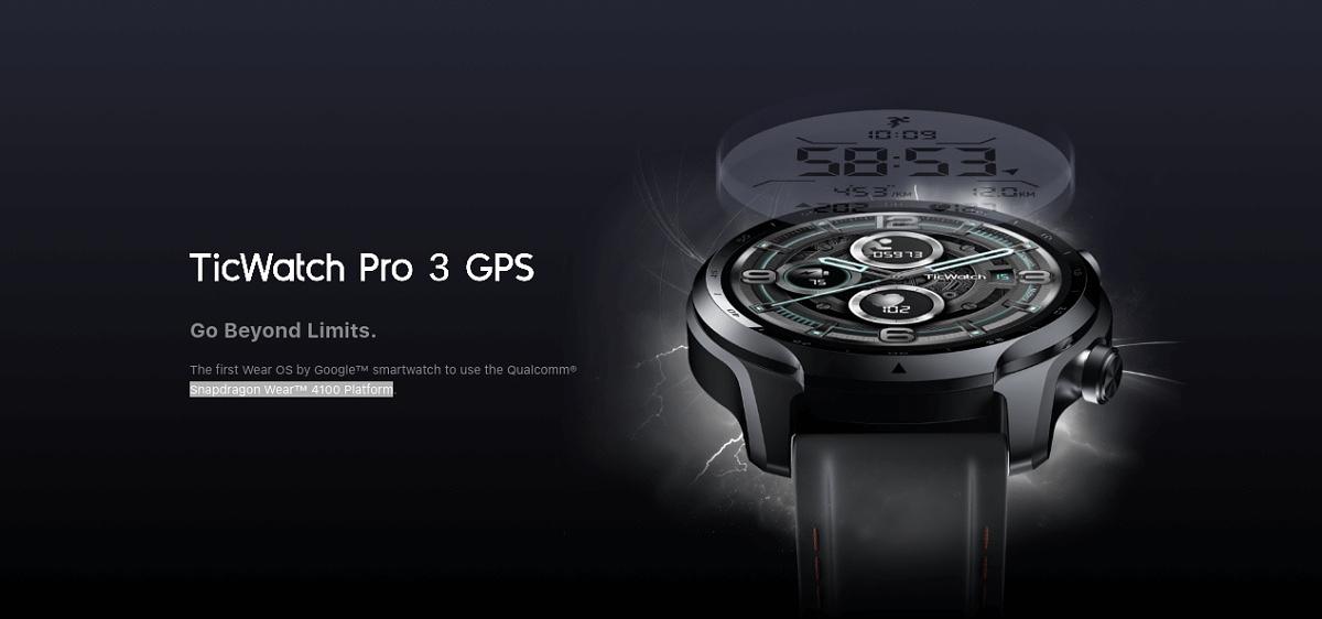 Qualcomm® Snapdragon Wear™ 4100 플랫폼을 사용하는 최초의 Google™ Wear OS 스마트워치.