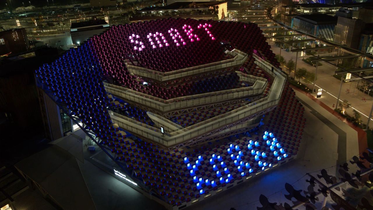 2020 두바이 엑스포 내 모빌리티 존 한국관(KOTRA)